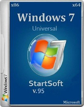 Windows 7 SP1 x86 StartSoft 95-2015 [Ru]