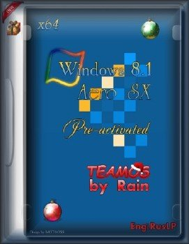 Windows 8.1 Aero SX Pre-activated TeamOS x64