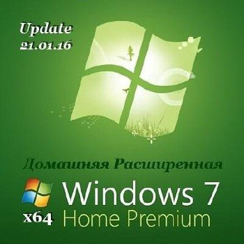 Windows 7 Home Premium SP1 x64 Upd 21.01 by Тилик [Ru]