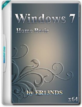 Windows 7 SP1 Home Basic Rus x64 (30.01.2016)