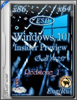 Windows 10 Insider Preview 14267.1000.160213-0213.RS1_RELEASE (Redstone 1)