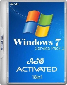 Windows 7 SP1 RUS-ENG x86-x64 -18in1- Activated v5 (AIO)