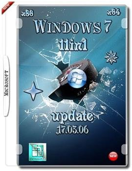 Windows 7 SP1 11in1 Updated Mart by donbass v.04.16