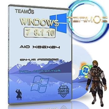 Windows 7-8.1-10 Aio 6in1 (X86x64) March т.2 Incl Activator by TEAM OS