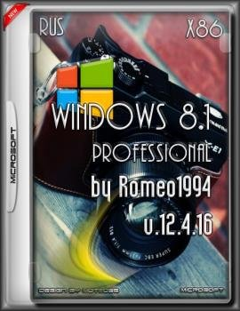 Windows 8.1 Professional by Romeo1994 (x86) (RUS)