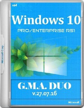 Windows 10 RS1 x64 RUS G.M.A. DUO v.27.07.16