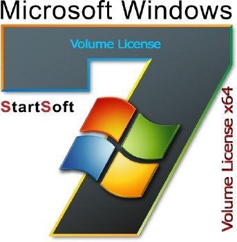 Windows 7 SP1 x64 Volume License StartSoft 20-21 2016 [Ru]