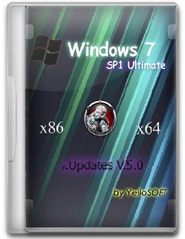 Windows 7 SP1 Ultimate Updates V.5.0 by YelloSOFT