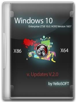 Windows 10 Enterprise LTSB 10.0.14393 Version 1607 (x86/x64) [Updates 2.0][Русские]