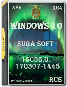 Windows 10 Insider Preview 15055.0.170307-1445.RS2 by SURA SOFT 10in1 x86 x64