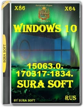 Windows 10 Insider Preview 15063.0.170317-1834.RS2 by SURA SOFT  Русские