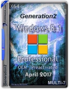 Windows 8.1 Professional OEM Multi-7 Generation2 (x64) (Multi-7)