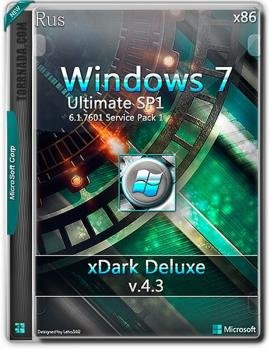 Windows 7 xDark Deluxe v4.3 32-Bit RG
