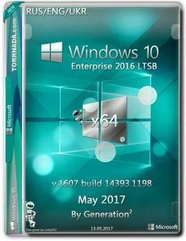 Windows 10 Enterprise LTSB 14393.1198 by Generation2 (x64)