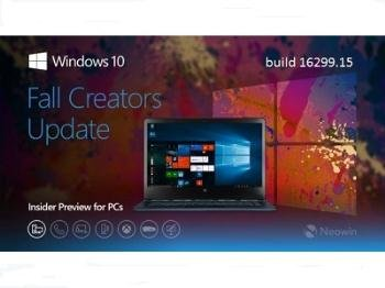 Windows 10 Insider Preview Build 16299.15 (ESD) 32/64bit