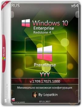 Windows 10 Enterprise 17025.1000 rs4 Prerelease x86-x64 RU-RU YYY