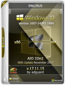 Windows 10 Version 1607 with Update (x86-x64) AIO [32in2]