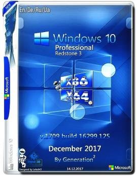 Windows 10 Professional RS3 Build 16299.125 by Generation2 (x86/x64)