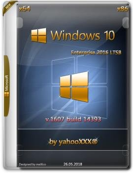 Windows 10 Enterprise 2016 LTSB / v 1607 build 14393 / by yahooXXX