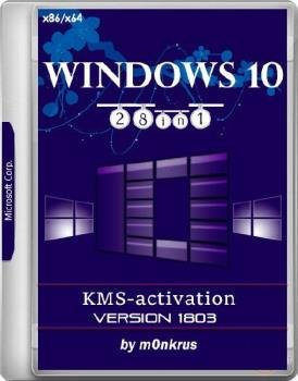 Windows 10 (v1803) RUS-ENG x86-x64 -28in1- KMS-activation (AIO)