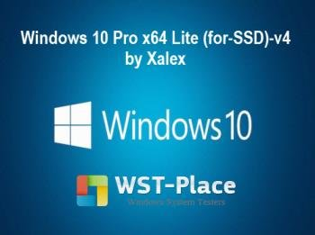 Windows 10 Pro Lite (for-SSD)-v4 by Xalex [x64]