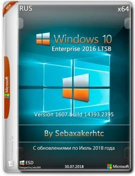 Windows 10 Enterprise 1607 LTSB Build 14393.2396.1.1 (x64) Sebaxakerhtc Edition