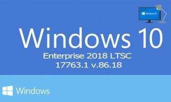 Windows 10x86x64 Enterprise 2019 LTSC 17763.1 (Uralsoft)