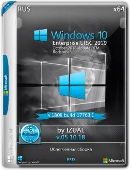 Windows 10 Enterprise LTSC 2019 17763.1 Version 1809 (x64) _IZUAL_05_10_18 (esd)