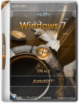 Windows 7 SP1 {176 in 2} KottoSOFT (x86x64)