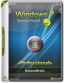 Windows 7 SP1 Professional (x64) (Rus) [30102018]