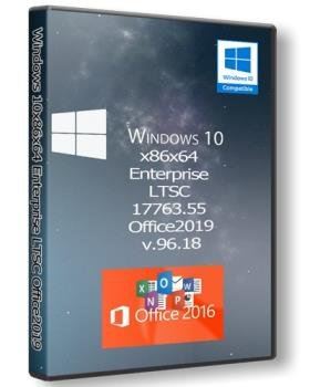 Windows 10x86x64 Enterprise LTSC 17763.55 & Office2019 by Uralsoft