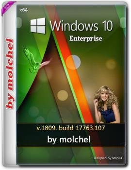 Windows 10 Enterprise v1809.107 by molchel (x64)