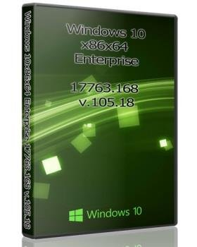 Windows 10x86x64 Enterprise 17763.168 by Uralsoft