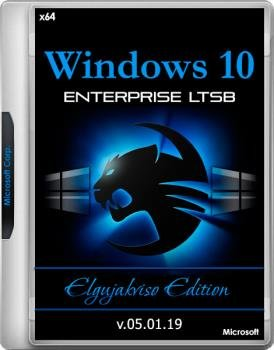 Windows 10 Enterprise LTSB x64 (Version 1607) Elgujakviso Edition v.05.01.19