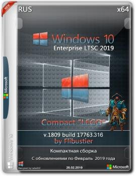 Windows 10 LTSC 2019 Compact [17763.316] by Flibustier (x86-x64)