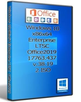 Windows 10x86x64 Enterprise LTSC & Office2019 17763.437 by Uralsoft