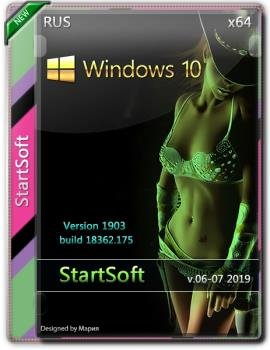 Windows 10 x64 DVD Release by StartSoft 06-07 2019