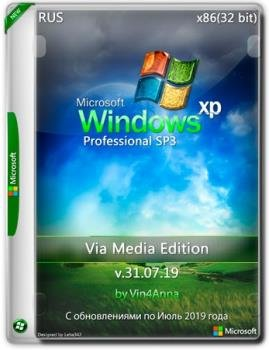 Windows XP Pro SP3 Update v.31.07.19 Via Media Edition