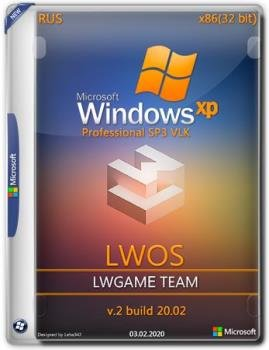 Windows XP Pro SP3 x86 VLK LWOS v.2 build 20.02 by LWGamе