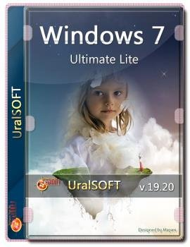 Windows 7x86x64 Ultimate Lite v.19.20  by Uralsoft